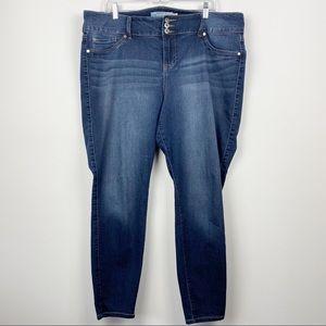 TORRID DENIM Plus Size Skinny Jeans 2017 Size 20 Regular 20R 3X